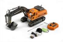 Hobby Engine RC tracked excavator (1:12, 2.4GHz, RTR)