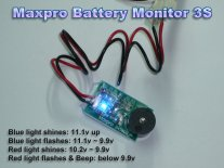 Maxpro Battery Monitor 4S