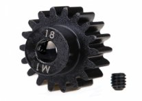 TRAXXAS Pinion Gear 18T 1.0M Pitch for 5mm Shaft (Machined)