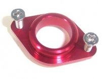 Red Aluminum Exhaust Pipe Retainer