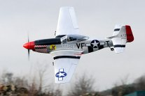 FMS WWII P-51D Mustang Electric RTF Aircraft with 2.4ghz Radio
