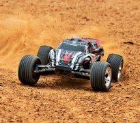 TRAXXAS Rustler 2WD 1/10 RTR TQ Red - w/o Battery & Charger