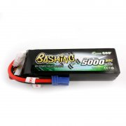 Gens ace 5000mAh 14.8V 4S1P 50C Lipo Battery Pack with EC5 Plug-