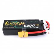 Gens ace 5200mAh 14.8V 4S1P 40C Lipo Battery Pack with XT90 Plug