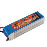 Gens ace 5000mAh 14.8V 45C 4S1P Lipo Battery Pack