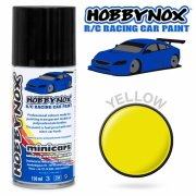 HOBBYNOX Yellow R/C Racing Car Spray Paint 150 ml