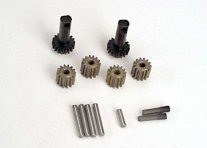 TRAXXAS Gears & Axles (Hardened) for Diff (Set)