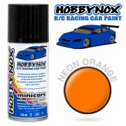 HOBBYNOX Neon Orange R/C Racing Car Spray Paint 150 ml