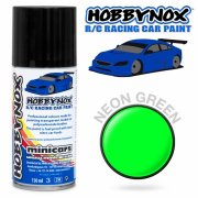 HOBBYNOX Neon Green R/C Racing Car Spray Paint 150 ml