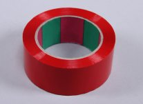 Wing Tape 45mic x 45mm x 100m - Red