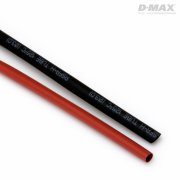 D-MAX Heat Shrink Tube Red & Black D3mm x 1m