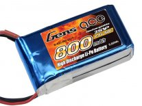 Gens ace 0800mAh 7.4V 40C 2S1P Lipo Battery Pack