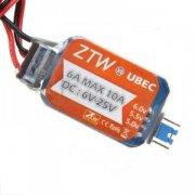 ZTW UBEC 6A 5/6V Voltage Regulator 2-6S
