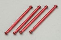 (Z-RMX736063) Dogbone Shaft Metal (4pcs) - Jackal/Husky