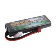 Gens ace 4000mAh 7.4V 2S1P 50C HardCase 8# car Lipo Battery pack