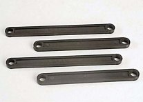 TRAXXAS Rustler Camber Link Front and Rear Black (4)