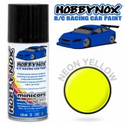 HOBBYNOX Neon Yellow R/C Racing Car Spray Paint 150 ml