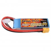 Gens ace 1800mAh 7.4V 40C 2S1P LiPo Battery Pack with XT60 Plug