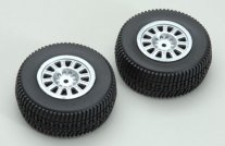 (Z-RMX739005) Wheel and Tyre Set(2pcs)Coyote