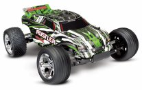 TRAXXAS Rustler 2WD 1/10 RTR TQ Green - w/o Battery & Charger