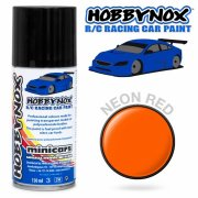 HOBBYNOX Neon Red R/C Racing Car Spray Paint 150 ml