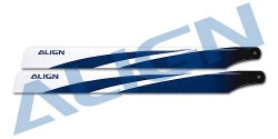 (HD360B) 360 Carbon Fiber Blades-Blue