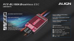 (HES10001) RCE-BL100A Brushless ESC