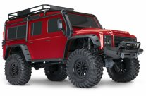 TRAXXAS TRX-4 Scale & Trail Crawler Land Rover Defender Red