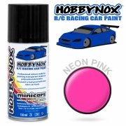 HOBBYNOX Neon Pink R/C Racing Car Spray Paint 150 ml