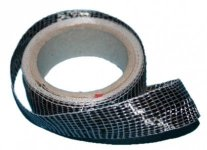 TPC: Carbon-glass tape 125g/m2 - 1 meter