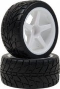 LRP: VTEC front wheels 1/10 Off-Road Buggy -Racing Slick- wheel