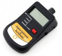 Q-Model digital tachometer with voltmeter