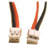 GPX Extreme: 2-pin PH white plug with 22AWG wire 30cm