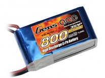 Gens ace 0800mAh 11.1V 40C 3S1P Lipo Battery Pack