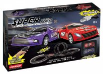Joysway Super 252 - USB Powered 1/43 Slot Car Racing Set