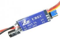 ZTW UBEC 3A 5/6V Voltage Regulator 2-6S