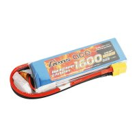 Gens ace 1600mAh 7.4V 45C 2S1P Lipo Battery Pack with XT60 Plug