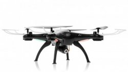 SYMA X5SW Explorers 2 2.4GHz (WiFi FPV, 0.3MP camera) - BLACK