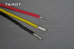 TL12020-02  Tarot 18AWG soft silicone - 50cm each color