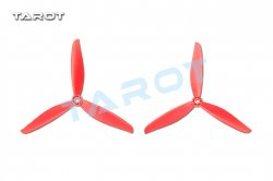 TL300E11 Tarot 6'' 3-leaf propeller /Red CW/CCW