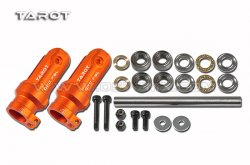 Tarot 500DFC Main Rotor Clamp group / orange