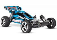 TRAXXAS Bandit 2WD 1/10 RTR TQ Blue - w/o Battery & Charger