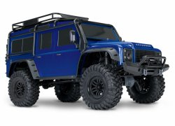 TRAXXAS TRX-4 Scale & Trial Crawler Land Rover Defender Blue RTR
