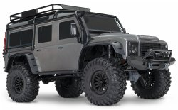 TRAXXAS TRX-4 Scale & Trail Crawler Land Rover Defender Silver R