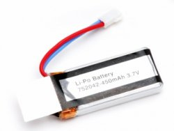 UDI U27 Li-Po Battery 1S 3,7V 450mAh