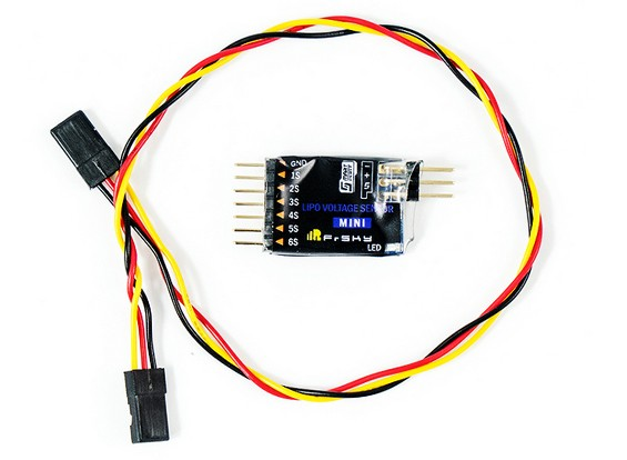 FrSky MLVSS Mini Lipo Voltage Sensor