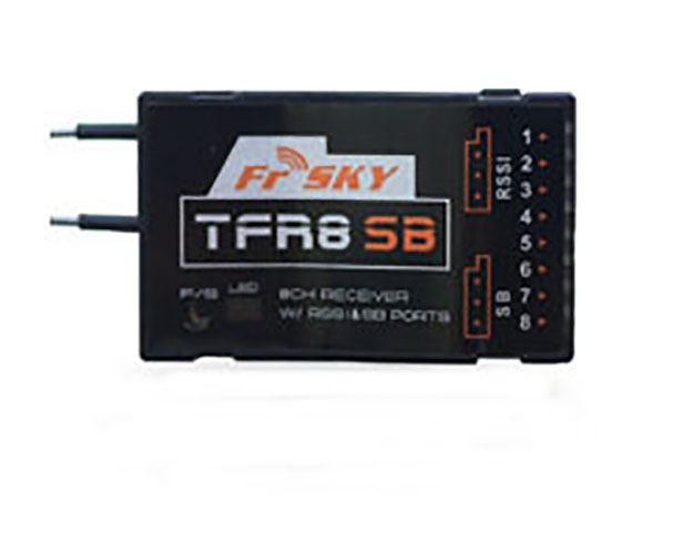 FrSky Futaba FASST Compatible 8Ch 2.4Ghz Receiver with S-BUS